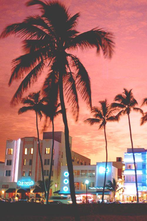 Miami at night, Florida More news about worldwide cities on Cityoki! http://www.cityoki.com/en/ Plus de news sur les grandes villes mondiales sur Cityoki : http://www.cityoki.com/fr/
