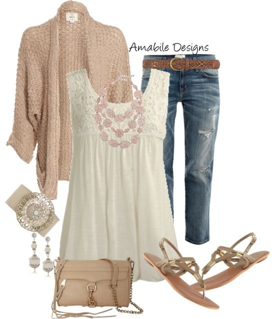 "Outfits From Polyvore | Spring outfits / ""Casual Spring"" by amabiledesigns on Polyvore:"