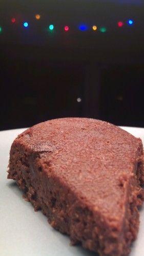 """Brownie sans oeuf de """"Charlotte en cuisine"""""""