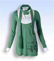 Maxi camiseta + bufanda   Talla: 34