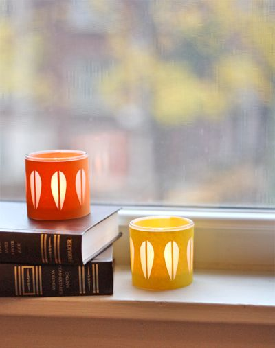 DIY Cathrineholm Candleholders by howaboutorange #Candleholders #howaboutorange
