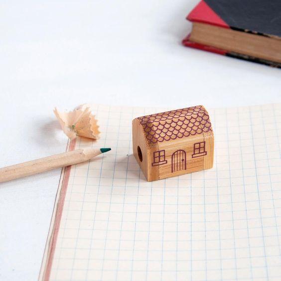 Little House Pencil Sharpener | dotcomgiftshop | Winter Sale Now On