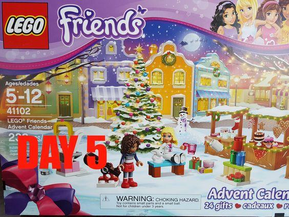 LEGO Friends 2015 Advent Calendar. set# 41102 Day 5