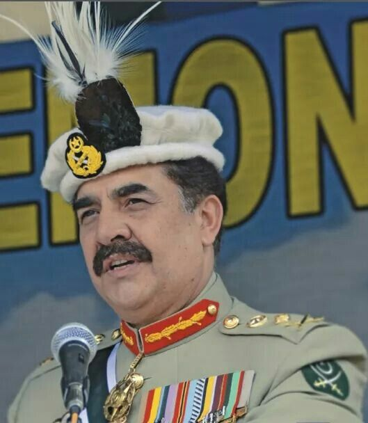 Image result for General Raheel Sharif Pakistan's National Hero