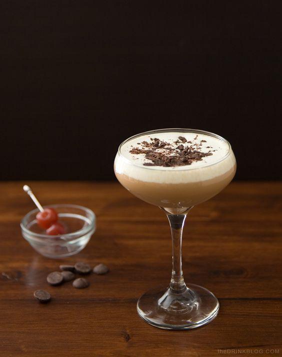 black forest cake martini recipe
