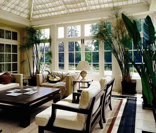 Seriously all about the windows when i 39 m a big girl for Conservatory interior designs