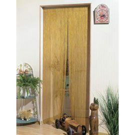 Rideau de porte batonnet Bambou 120 x 220 cm