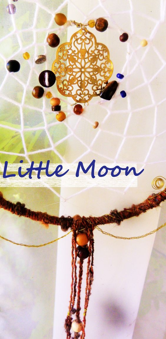 Attrape-rêve Dreamcatcher  * Little Moon handmade creation