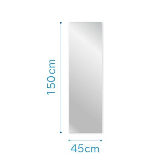 普通の鏡中型サイズ No 6 幅45 高さ150センチ 厚み5ミリの画像 鏡 150センチ リフォーム