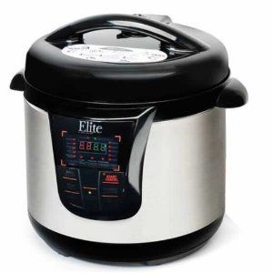 LOVE this 8 qt pressure cooker. Baked potatoes in 10 minutes.  Beef roast in 30 minutes!!!