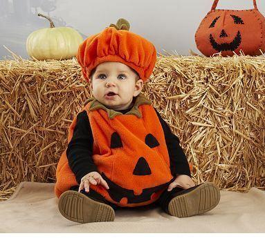 Disfraz de calabaza para beb s naranja y negrofuente - Trajes de calabaza ...