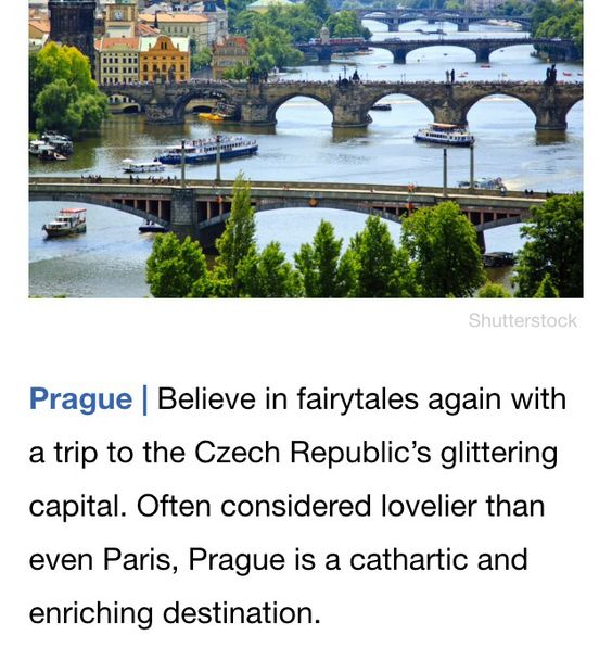 A fairytale city, yes please