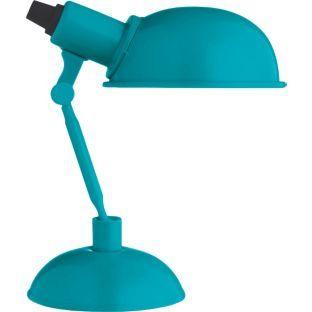 Argos Desk Lamps: Buy Habitat Tommy Desk Lamp - Turquoise at Argos.co.uk - Your Online,Lighting