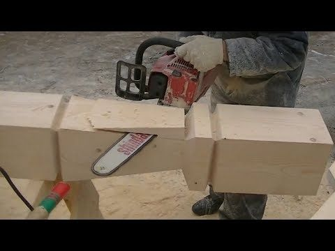 Amazing Techniques Experienced Carpenters Skills Wood Building Chainsaws Working Easy Woodworking Youtube Wood Building Wood Projects Woodworking