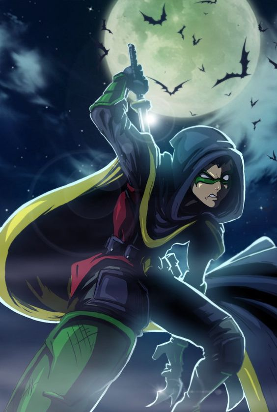 Damian Wayne by Jonny5Alves on DeviantArt