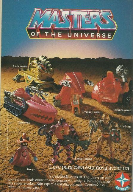 Masters of Universe (1988). O nome da animação era Mestres do Universo, mas por aqui era o desenho do He-Man mesmo!