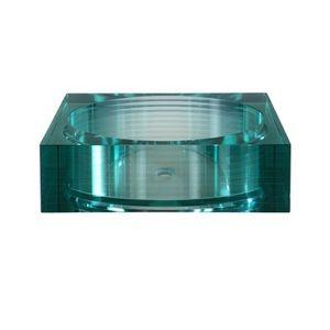 Ryvyr RGV105RSQ Segment Vessel Style Bathroom Sink - Segmented