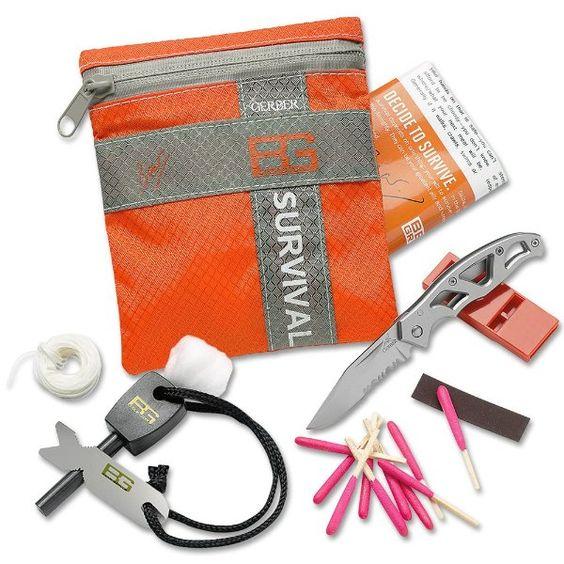 Gerber 31-000700 Bear Grylls Survival Series Basic Kit:Amazon:Home Improvement