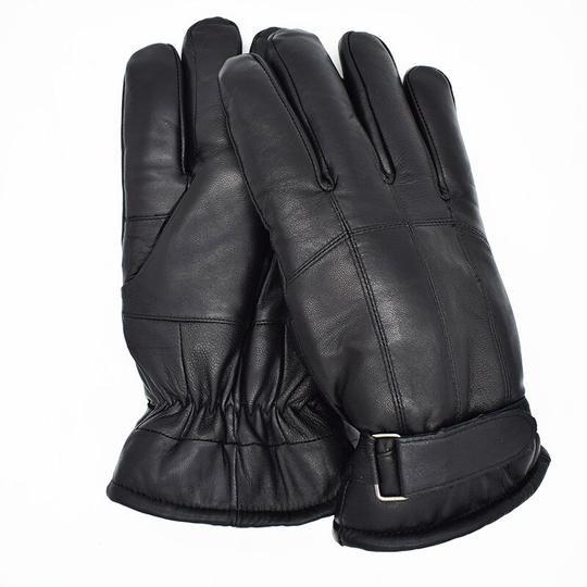 Sheepskin Gloves Genuine Leather with inside Sheep hair Glove Luxury Real Fur Gloves