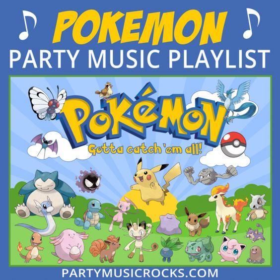 #Pokemon Party Music Playlist #PokemonGO