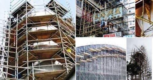 Scaffolding Steger Gedung Bangunan Rumah