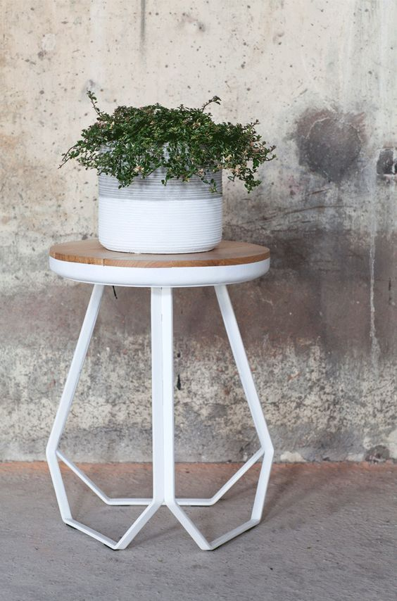 Table by Studio Simple. Making minimalist living warm with Studio Simple