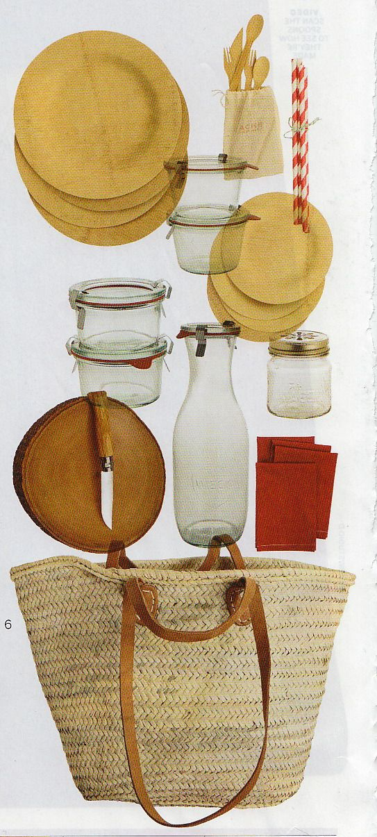 Picnic Basket Items : Do it yourself picnic basket these are items you can get