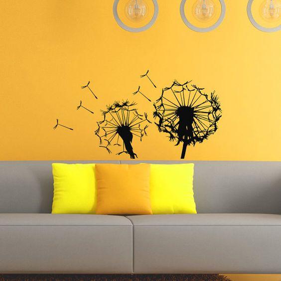 Vinyls, Dandelions and Flower on Pinterest