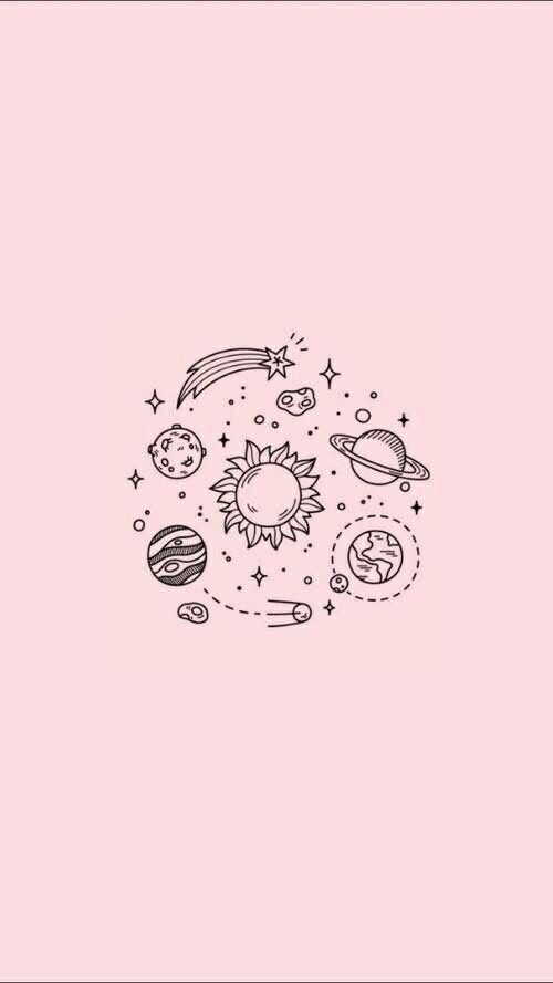 Wallpaper Background Pretty Cute Pink Tumblr Galaxy Click Here To Download Cute Wallpaper P Space Iphone Wallpaper Aesthetic Iphone Wallpaper Wallpaper Space