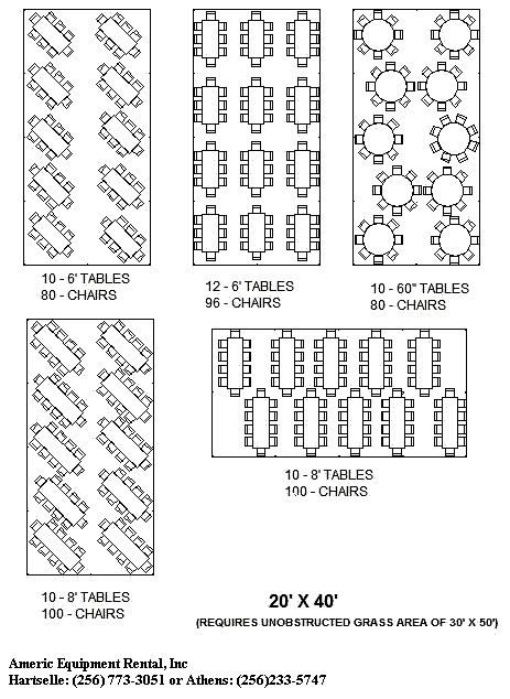 seating charts tent capacity pinterest bobs charts and search