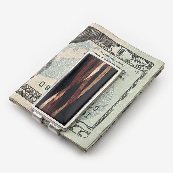 Davin & Kesler: Money Clip: Inlay Ebony