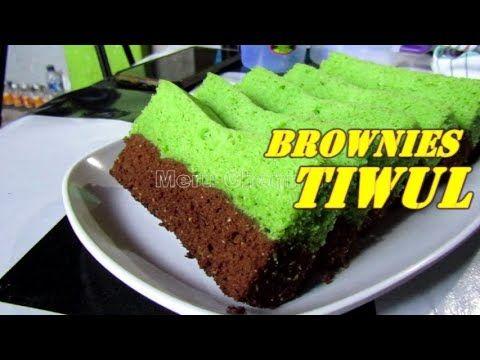 Resep Brownies Tiwul Coklat Pandan Youtube Coklat Ide Bisnis