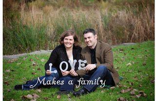 Love makes a family (adoption photos)