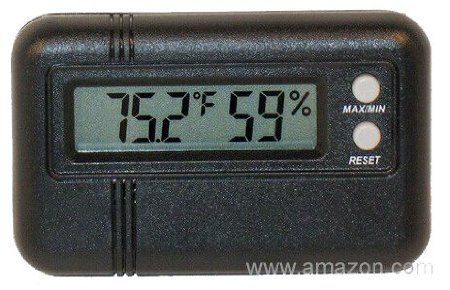 Mini Digital Thermometer Hygrometer by CT Power Tools.