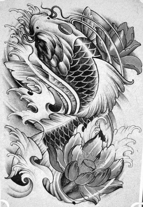 Pin By Kim On U Koi Dragon Tattoo Koi Fish Tattoo Tattoos