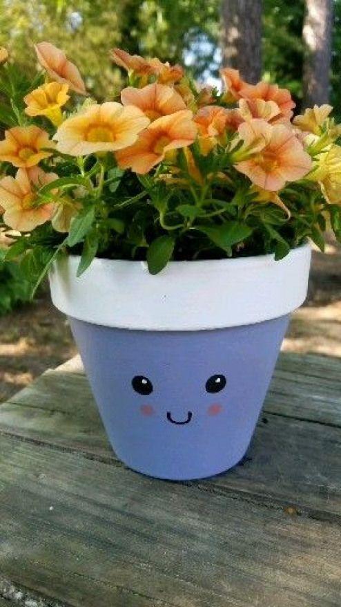 Plantingideas Planting Ideas Videos Painted Flower Pots Decorated Flower Pots Plant Pot Decoration