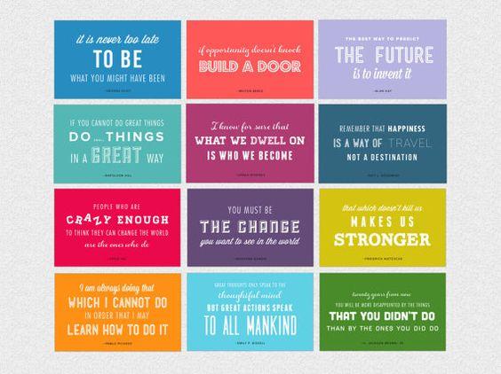 Calendar Inspirational 2016 : Giveaway enter to win an inspirational quotes