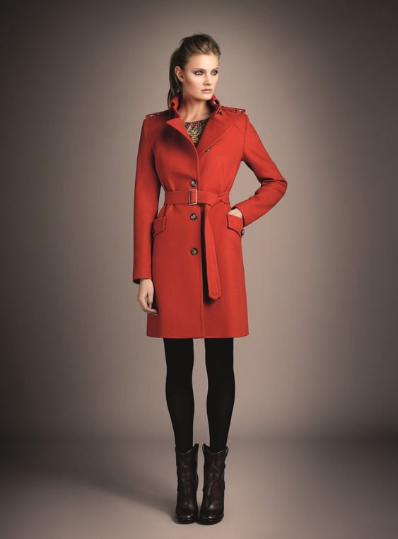 stand out red coat! - ive been wanting a red coat