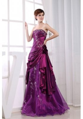 purple cocktail dress for prom
