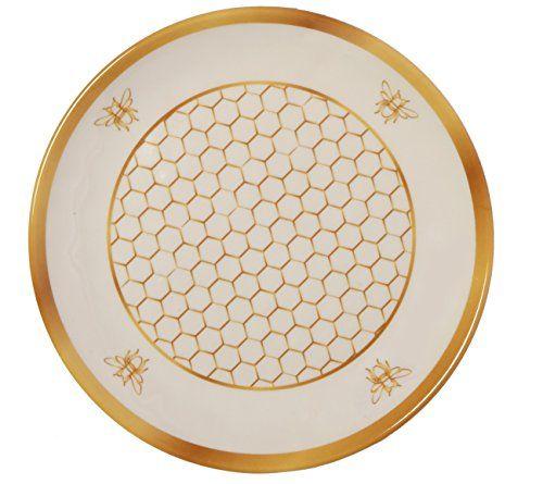 Melange 6 Piece 100 Melamine Salad Plate Set Gold Honey Https Www Amazon Com Dp B074wf1tr9 Ref C Melamine Dinner Set Plate Sets Melamine Dinnerware Sets
