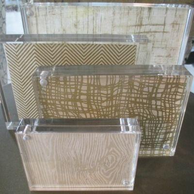 Acrylic Tabletop Magnet Frame Lucite Frame