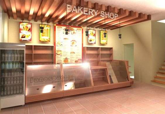 Bakery shops bakery shop interior and shop interior for Bakery shop interior decoration