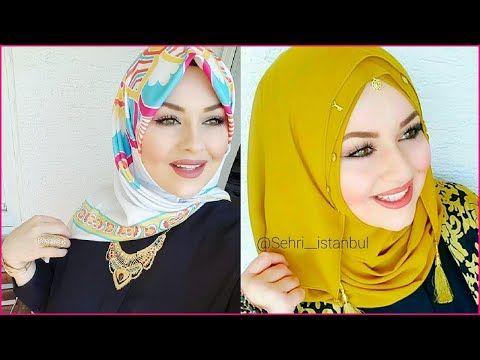 لفات حجاب 2018 تركية سهلة و جميلة جدا تجعلك انيقة المحجبات روعة لازم كل بنت محجبة تعرفها Youtube Esarp Turbanlar