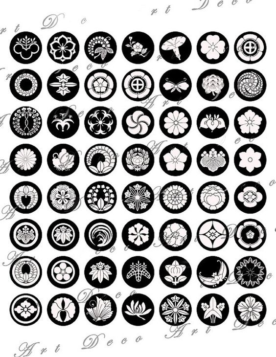 japanese clan symbols pictures to pin on pinterest pinsdaddy