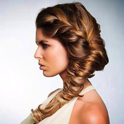 Fantastic Side Fishtail Braids Long Hair And Pretty Braids On Pinterest Hairstyle Inspiration Daily Dogsangcom