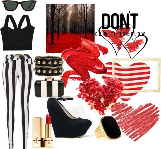 """PASION RED"" by astridcita-la on Polyvore"