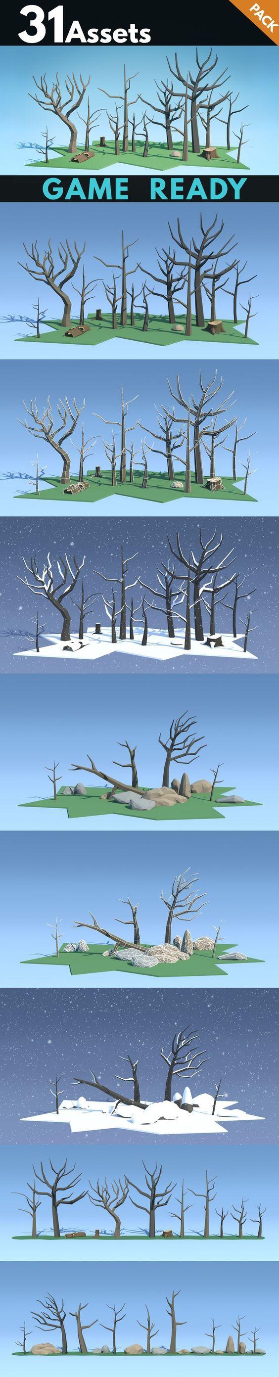 Dead Trees . Photoshop Textures. $15.00