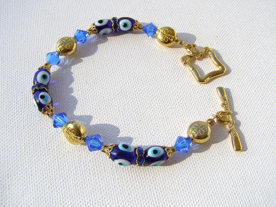 Kabbalah Jewelry-Evil Eye Bracelet