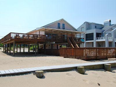 Sandbridge Beach - Oceanfront Vacation Home / Siebert Realty / Virginia Beach, VA  - By The Sea - 2816 Sandfiddler Road