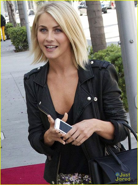 Julianne Hough Bob Hairtyles In 2020 Bob Hairstyles Choppy Bob Hairstyles Bob Hairstyles 2018
